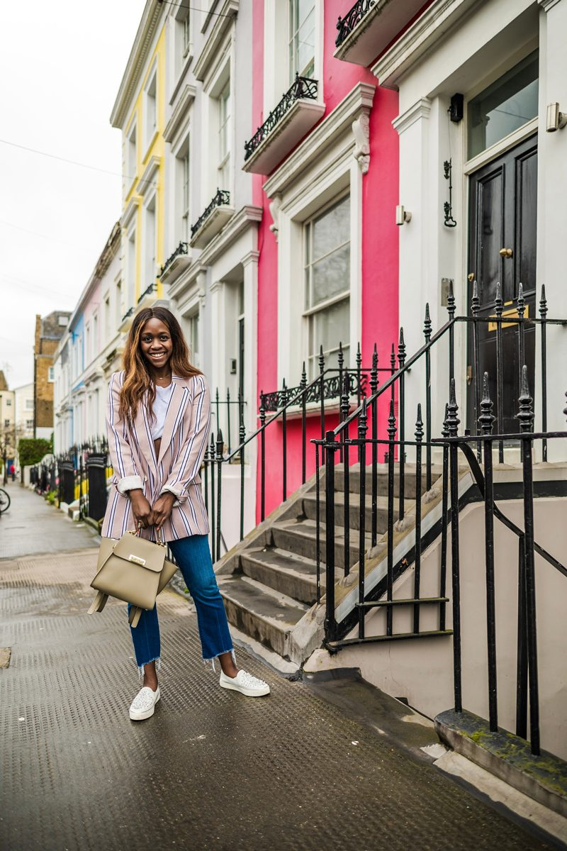 Notting Hill, Women's Free People Uptown Girl Blazer, When to Ask For Help From a Brand Manager by popular DC blogger, Alicia Tenise