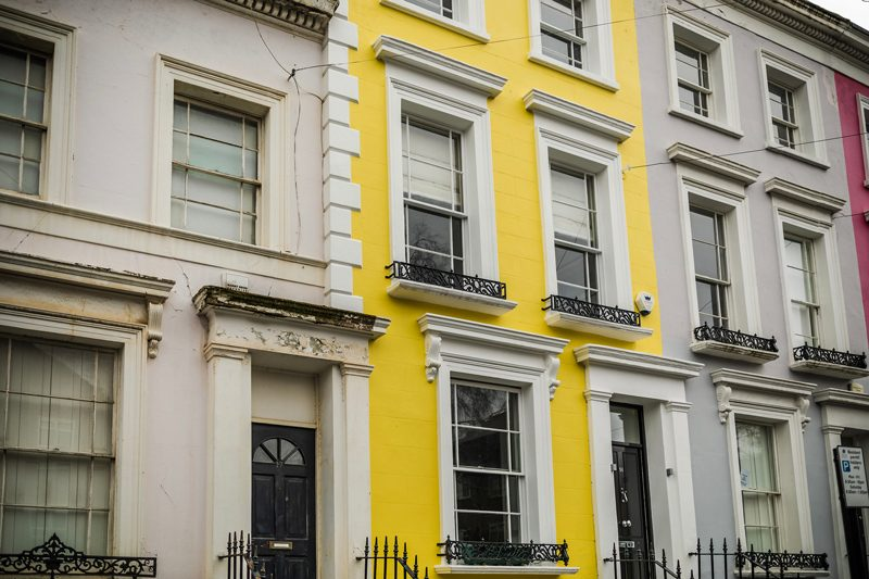 Notting Hill Rainbow Row, Notting Hill, When to Ask For Help From a Brand Manager by popular DC blogger, Alicia Tenise