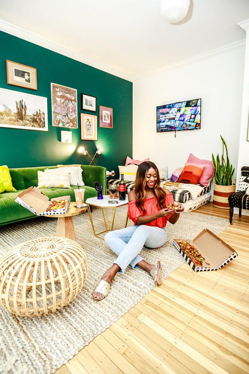 The Touraine Philadelphia, & Pizza, 5 Ways to De-stress As An Entrepreneur by popular DC blogger, Alicia Tenise