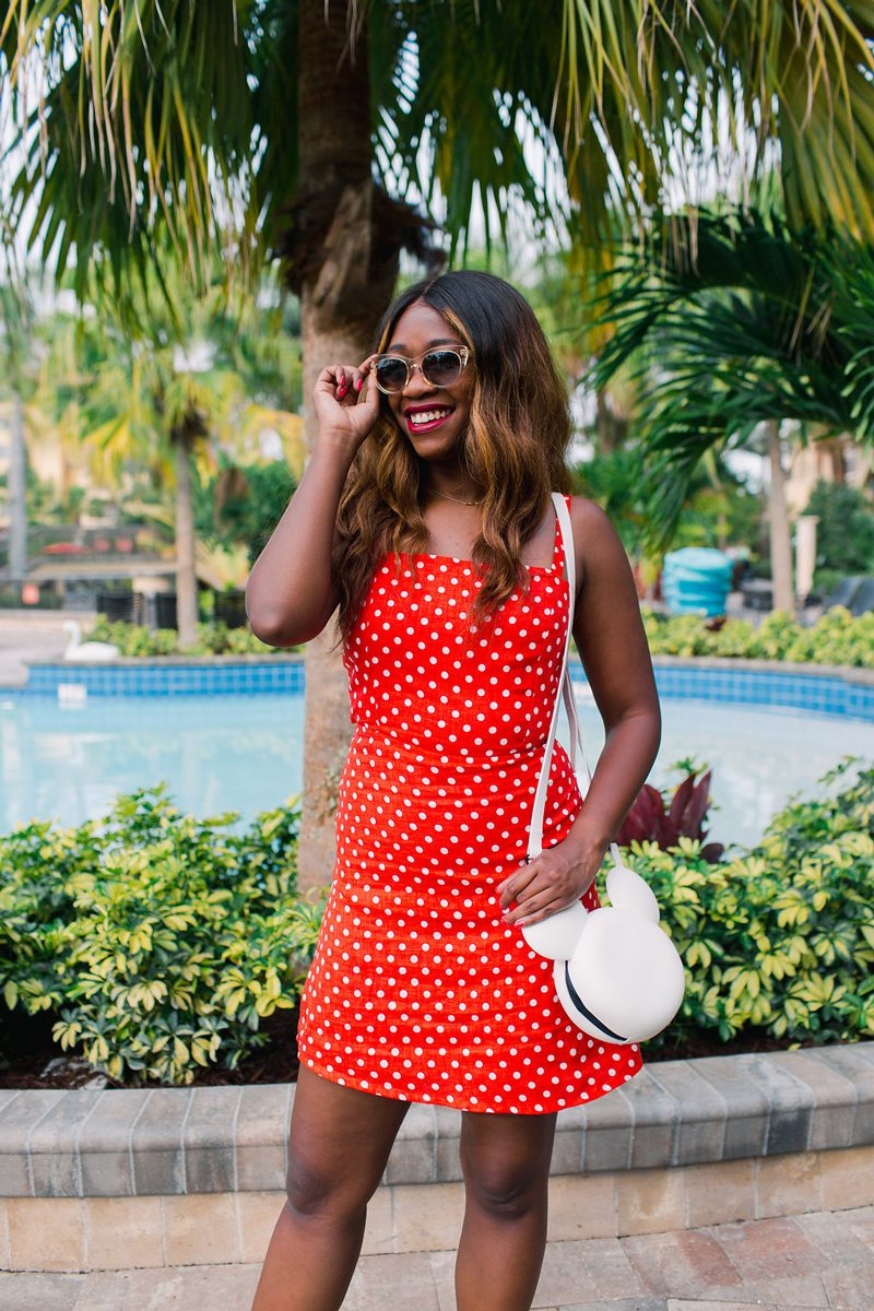 FAITHFULL THE BRAND Stepper Dress - How to Channel Your Inner Disney Style: Minnie Mouse Outfit featured by DC style blogger, Alicia Tenise