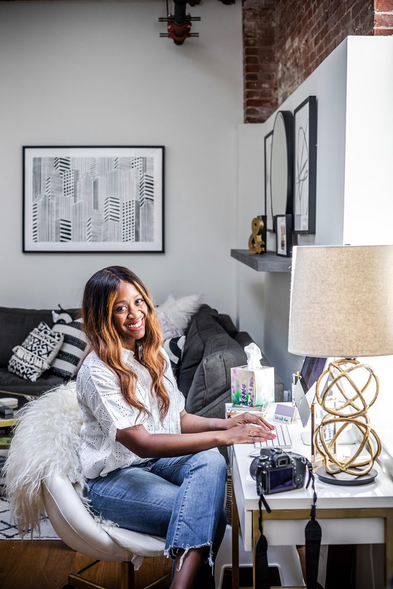 Blogger Office Reveal - Blogging Tips: 5 Things to Ask a Brand Before Collaborating by popular DC blogger, Alicia Tenise