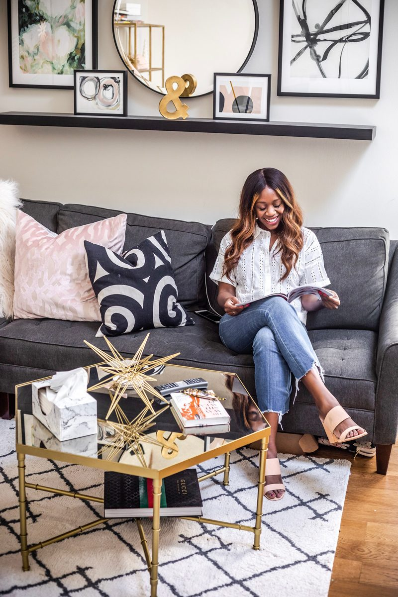 Minted Gallery Wall - Blogging Tips: 5 Things to Ask a Brand Before Collaborating by popular DC blogger, Alicia Tenise