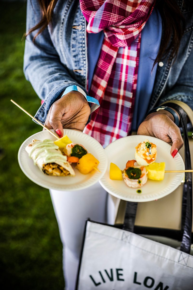 Fun at the Williamsburg Taste Festival featured by popular DC travel blogger, Alicia Tenise