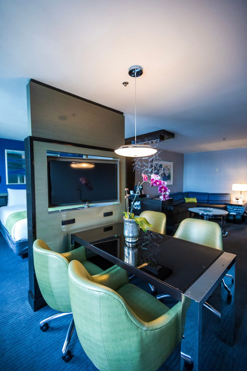 Royal Sonesta Boston Executive Suite Conference Area - The Most Charming Riverfront Hotel: Royal Sonesta Boston featured by popular DC Travel Blogger, Alicia Tenise