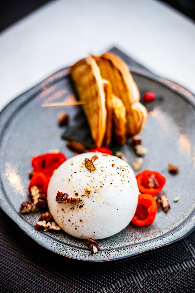 Burrata at ArtBar Cambridge - The Most Charming Riverfront Hotel: Royal Sonesta Boston featured by popular DC Travel Blogger, Alicia Tenise
