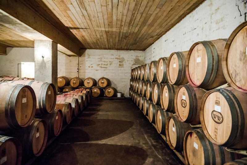 Williamsburg Winery Tour - The Ultimate Williamsburg Travel Guide featured by popular DC travel blogger, Alicia Tenise