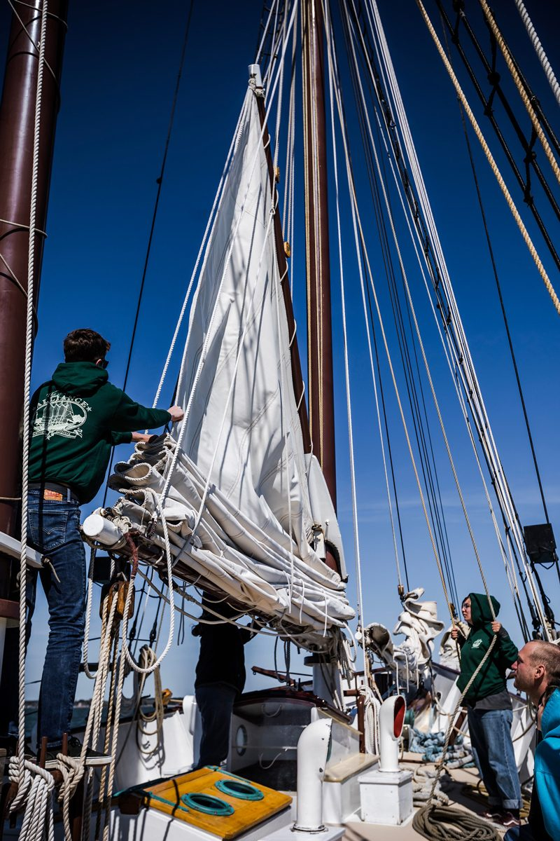Yorktown Sailing Charters - The Ultimate Williamsburg Travel Guide featured by popular DC travel blogger, Alicia Tenise