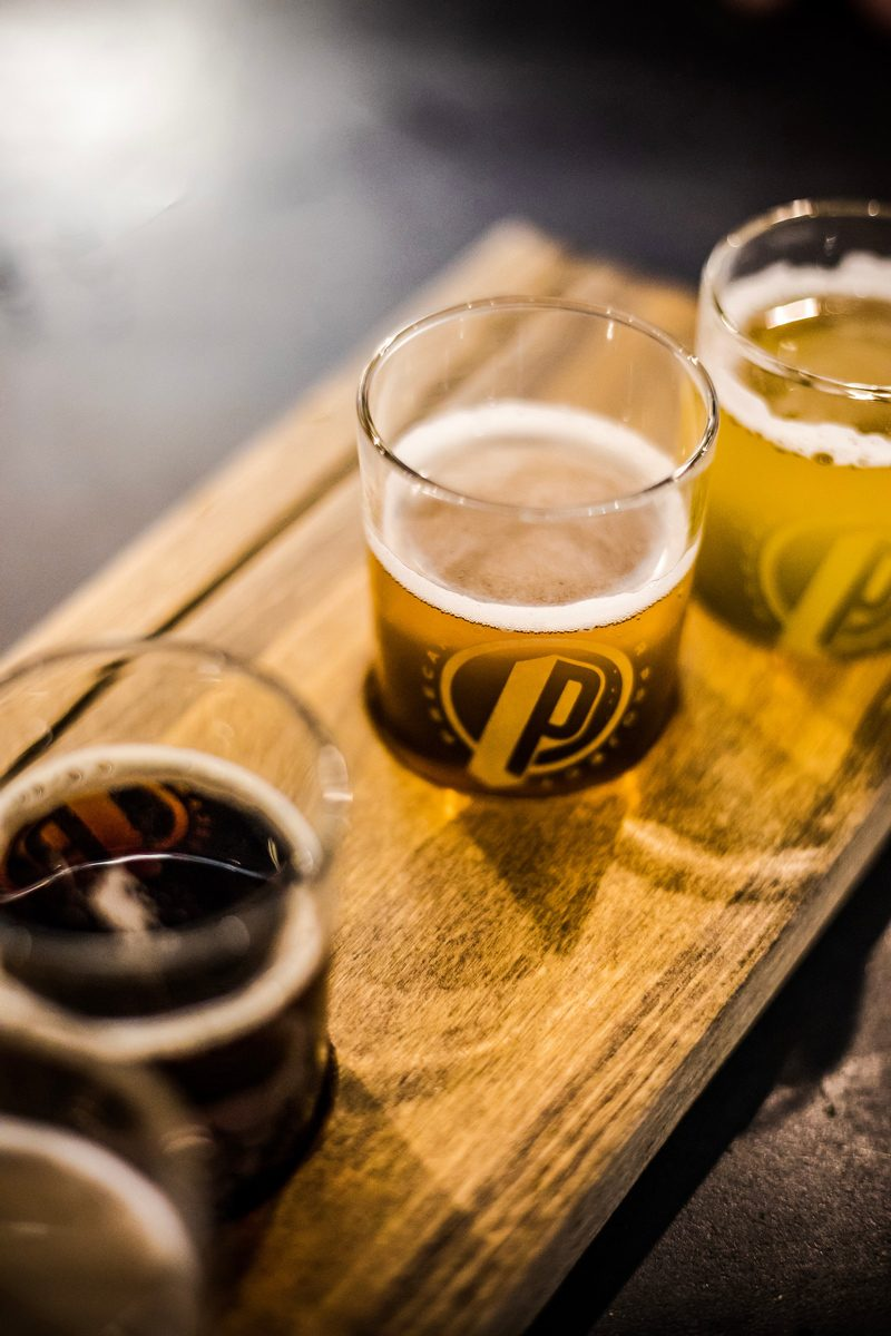 Amber Ox Precarious Beer - The Ultimate Williamsburg Travel Guide featured by popular DC travel blogger, Alicia Tenise