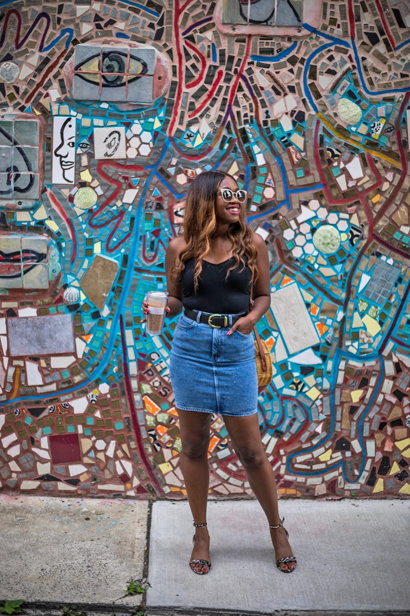 And Other Stories Denim Mini Skirt - Why Your Favorite Piece to Wear in High School is Making a Comeback featured by popular DC style blogger, Alicia Tenise