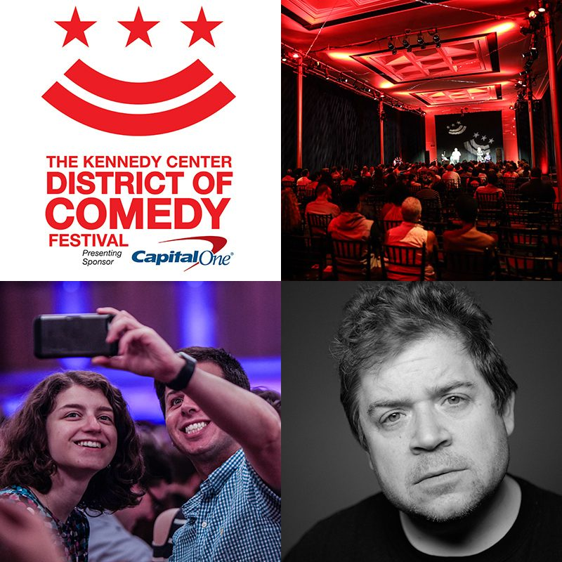Capital One's District of Comedy Festival featured by popular DC blogger, Alicia Tenise