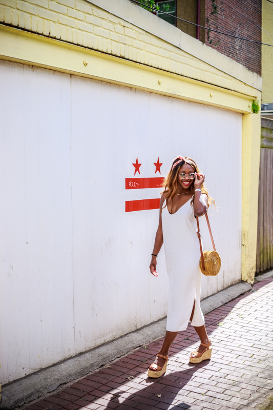 Abercrombie Wicker Crossbody Bag - The One Summer Essential You Need in Your Closet, featured by popular DC style blogger, Alicia Tenise