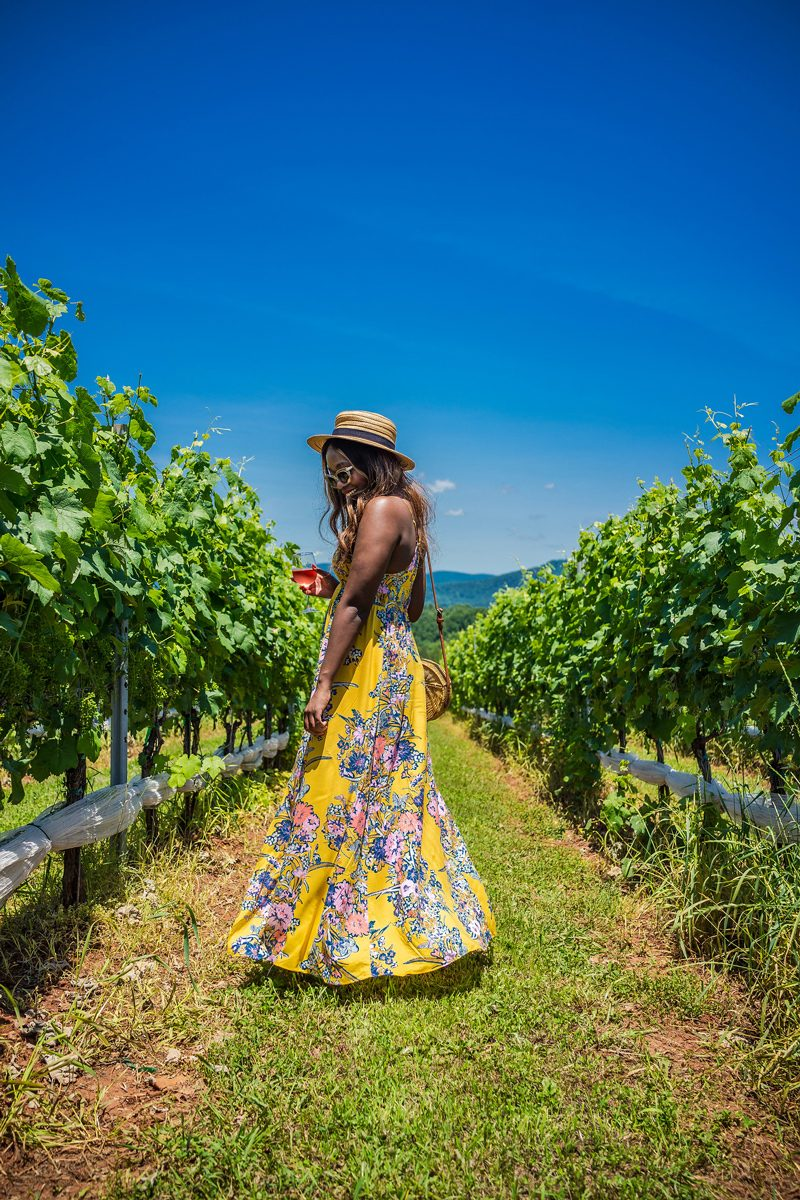 Free People Through The Vine Maxi Dress - I'm Moving To Charlottesville, VA by popular DC style blogger, Alicia Tenise