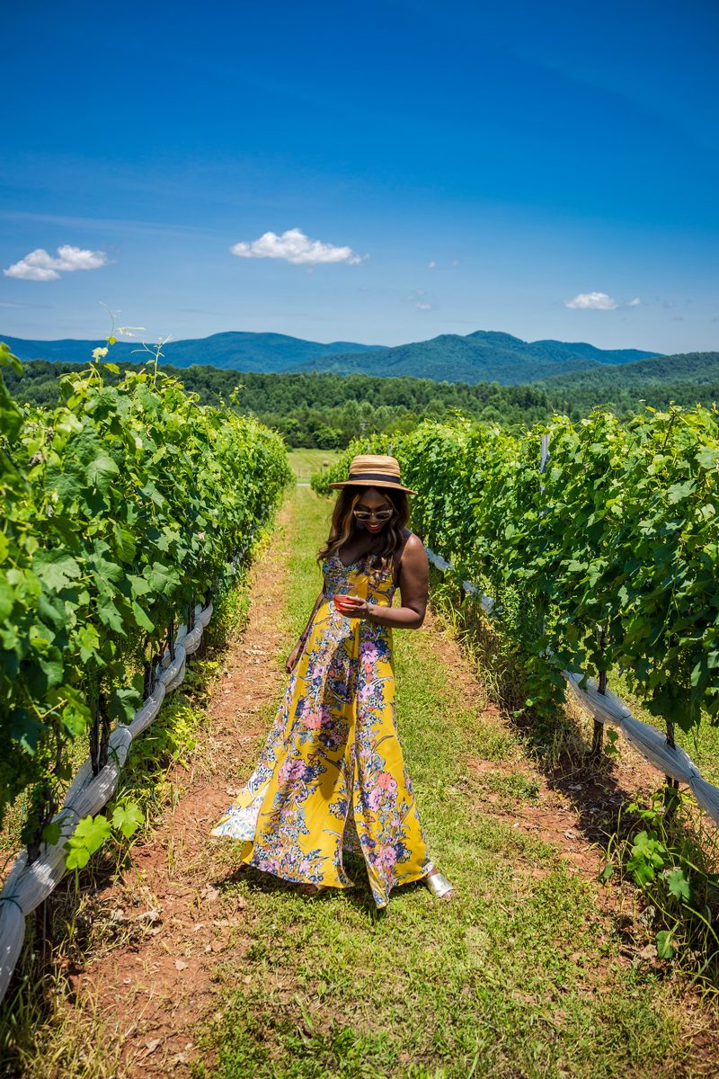 Yellow Paisley Maxi Dress - I'm Moving To Charlottesville, VA by popular DC style blogger, Alicia Tenise