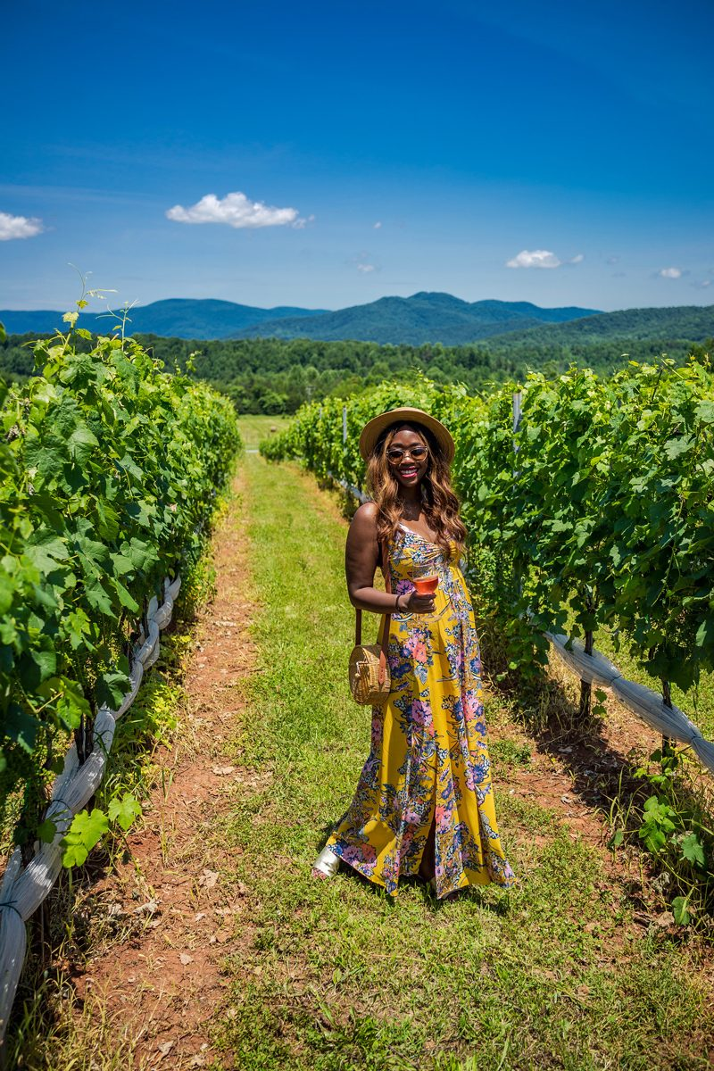 What to Wear to a Vineyard - I'm Moving To Charlottesville, VA by popular DC style blogger, Alicia Tenise