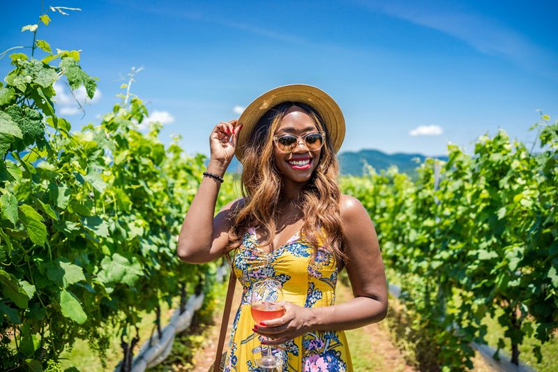 Stinson Vineyard in Crozet VA - I'm Moving To Charlottesville, VA by popular DC style blogger, Alicia Tenise