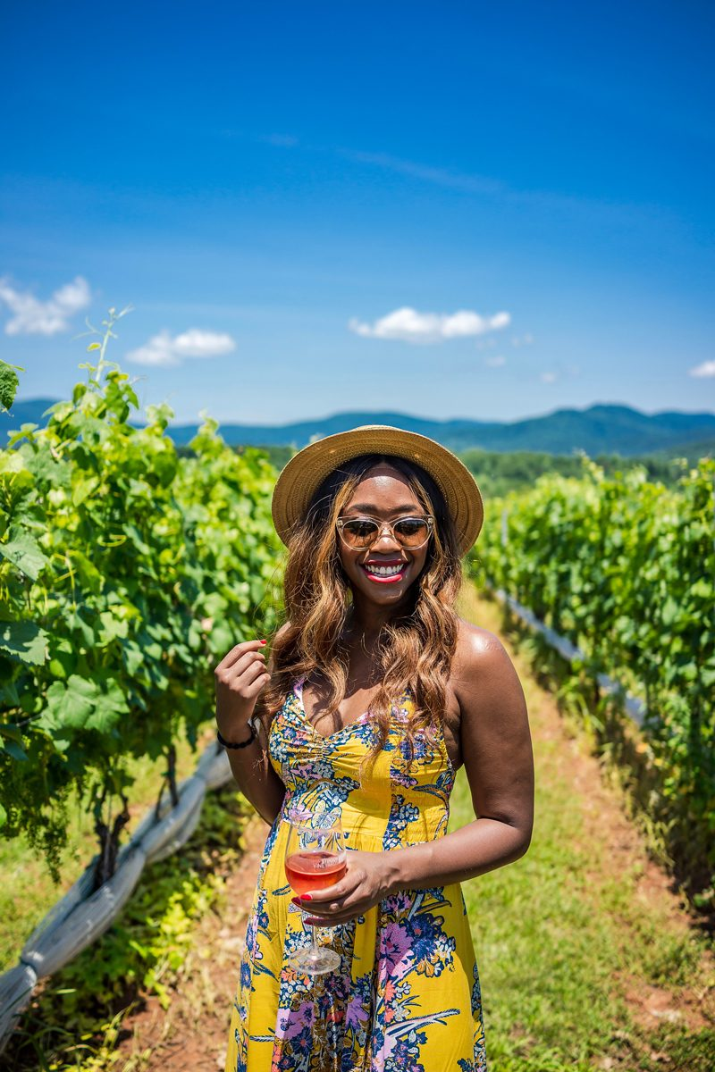 Winery Outfit Ideas - I'm Moving To Charlottesville, VA by popular DC style blogger, Alicia Tenise