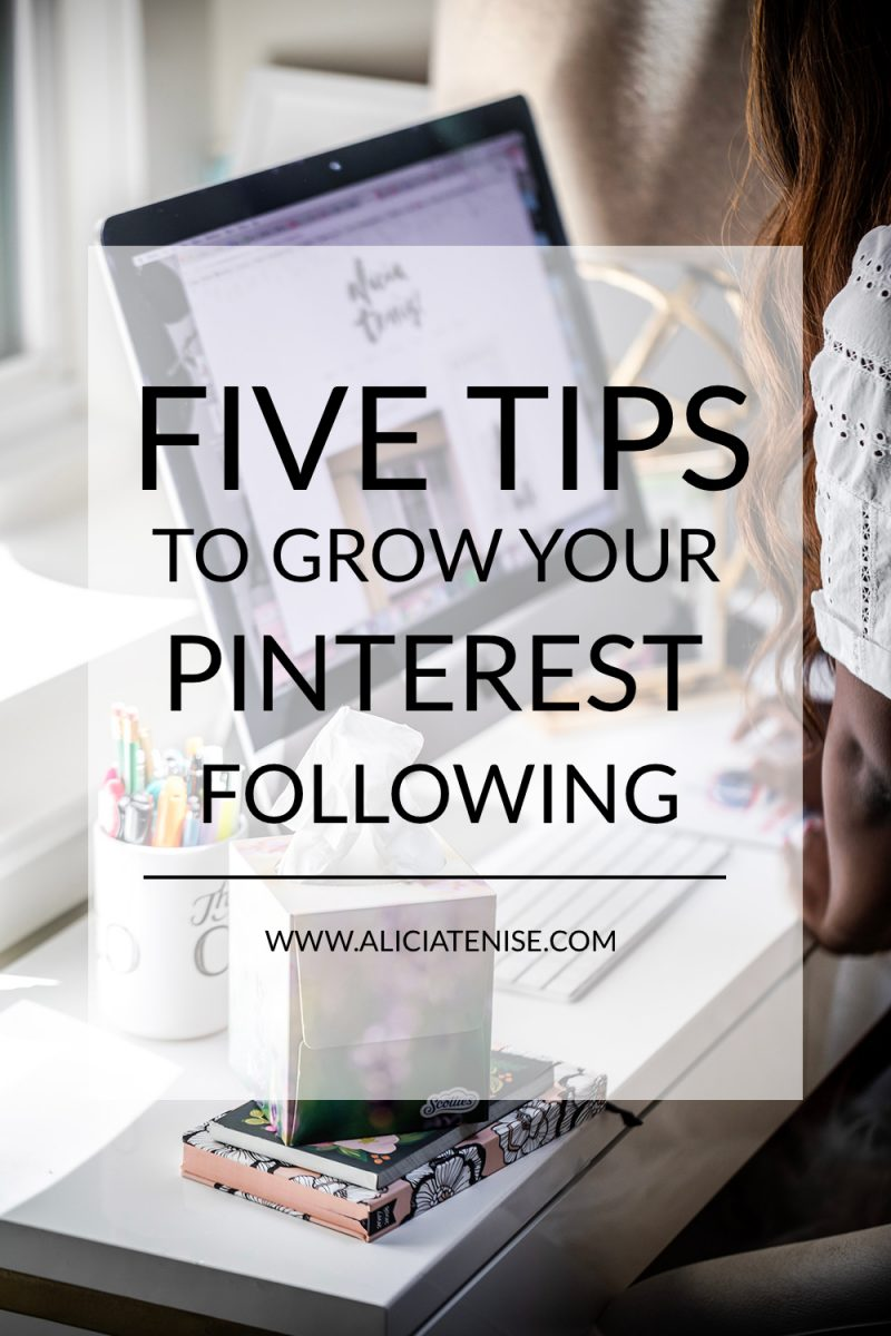 Five Ways to Grow Your Pinterest Following - 5 Things I Learned at the Pinterest Creators Event, In The Making featured by popular DC blogger, Alicia Tenise