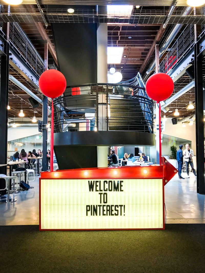Pinterest HQ in San Francisco - 5 Things I Learned at the Pinterest Creators Event, In The Making featured by popular DC blogger, Alicia Tenise