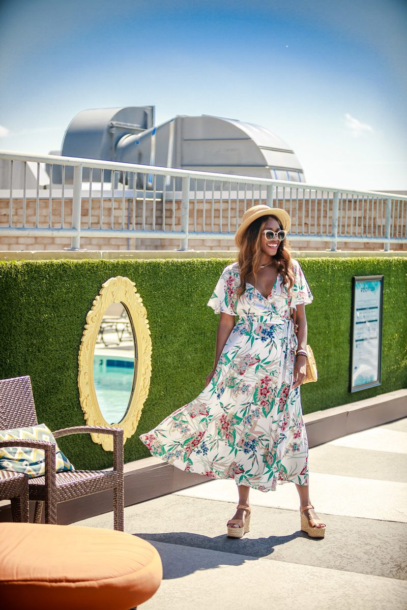 Embassy Row Hotel Rooftop, Summer Outfit Idea