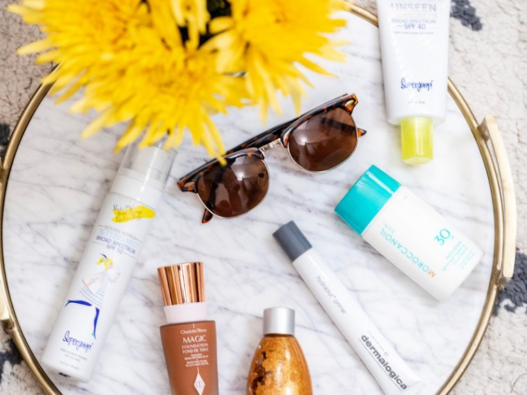 My Favorite Summer Skincare Products for 2018 by popular DC style blogger, Alicia Tenise