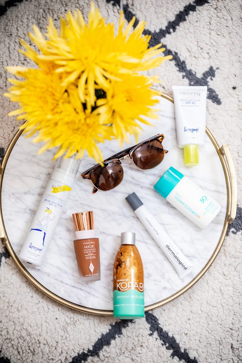 The Best Summer Skincare Products for 2018 - My Favorite Summer Skincare Products for 2018 by popular DC style blogger, Alicia Tenise