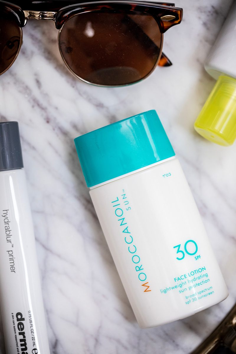 MoroccanOil Face Lotion with SPF 30 - My Favorite Summer Skincare Products for 2018 by popular DC style blogger, Alicia Tenise