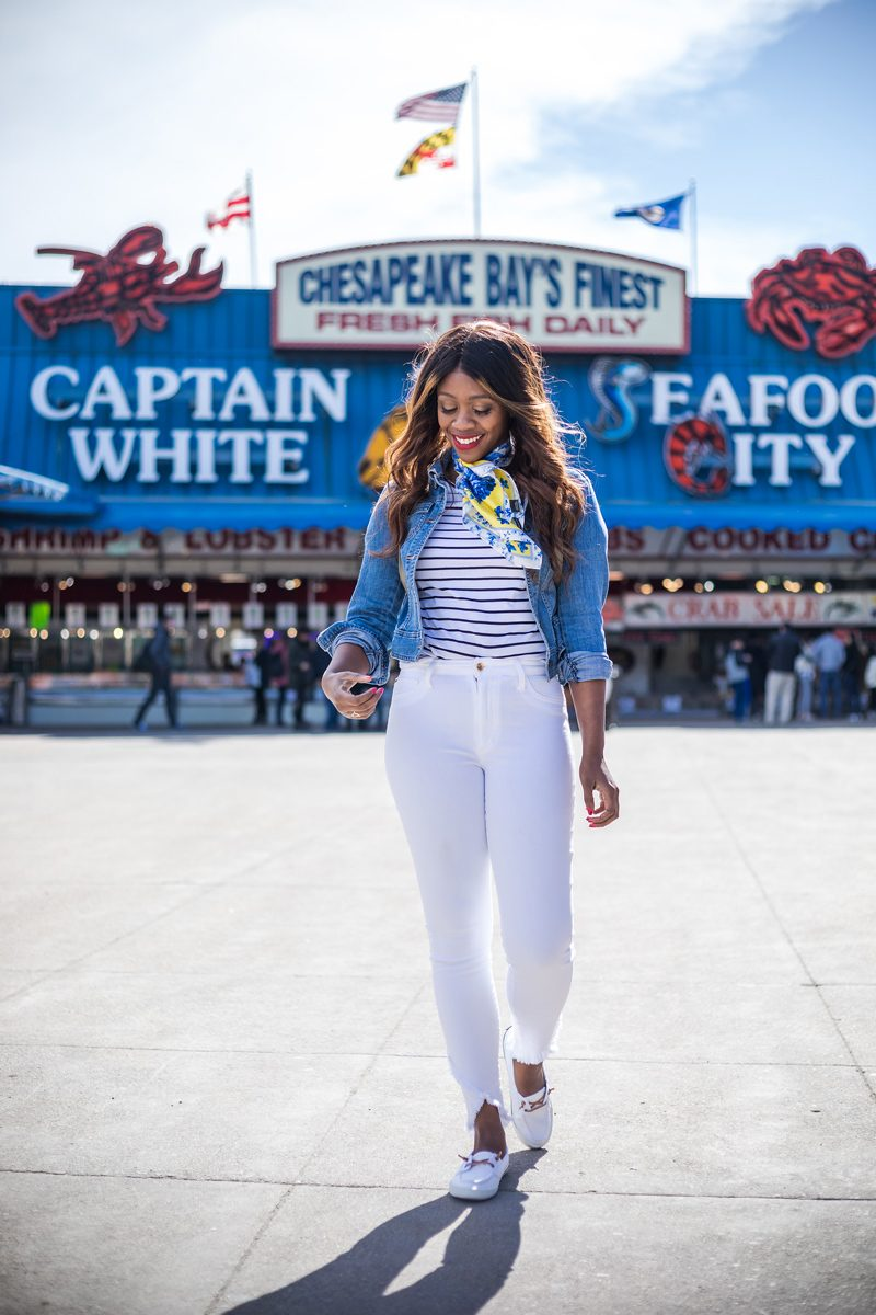 What to Wear on a Boat - My Summer Bucket List featured by popular DC lifestyle blogger, Alicia Tenise