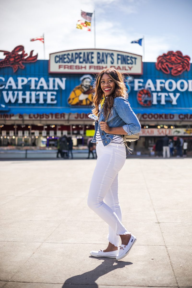 Washington D.C. Wharf, Sperry Top Sider Lounge Away Boat Shoe - My Summer Bucket List featured by popular DC lifestyle blogger, Alicia Tenise