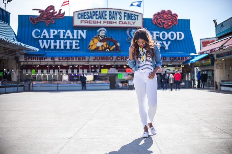 How to Wear White Jeans for Summer - My Summer Bucket List featured by popular DC lifestyle blogger, Alicia Tenise
