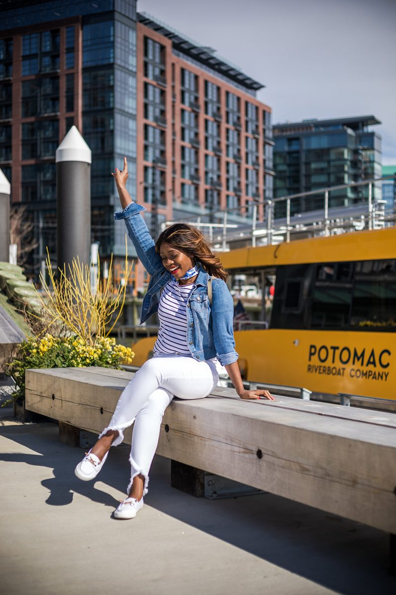 Joe's Jeans Charlie Ankle High Rise Skinny Ankle - My Summer Bucket List featured by popular DC lifestyle blogger, Alicia Tenise