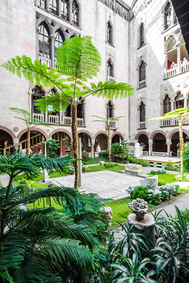 Isabella Stewart Gardner Museum - Boston Travel Guide: Things to Do & Where to Eat by popular DC travel blogger, Alicia Tenise