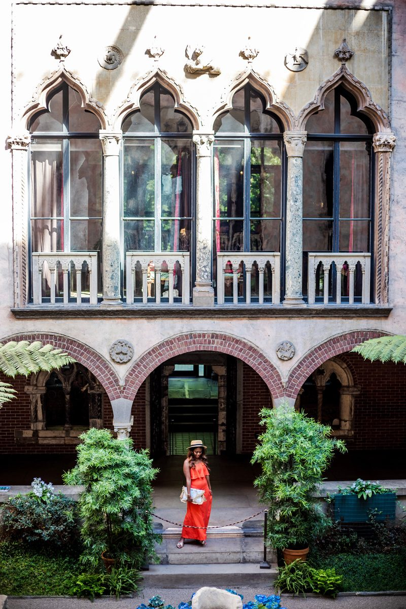 Isabella Stewart Gardner Museum - A Chic Hotel in the Heart of Downtown Boston: The Westin Copley Place featured by popular DC travel blogger Alicia Tenise