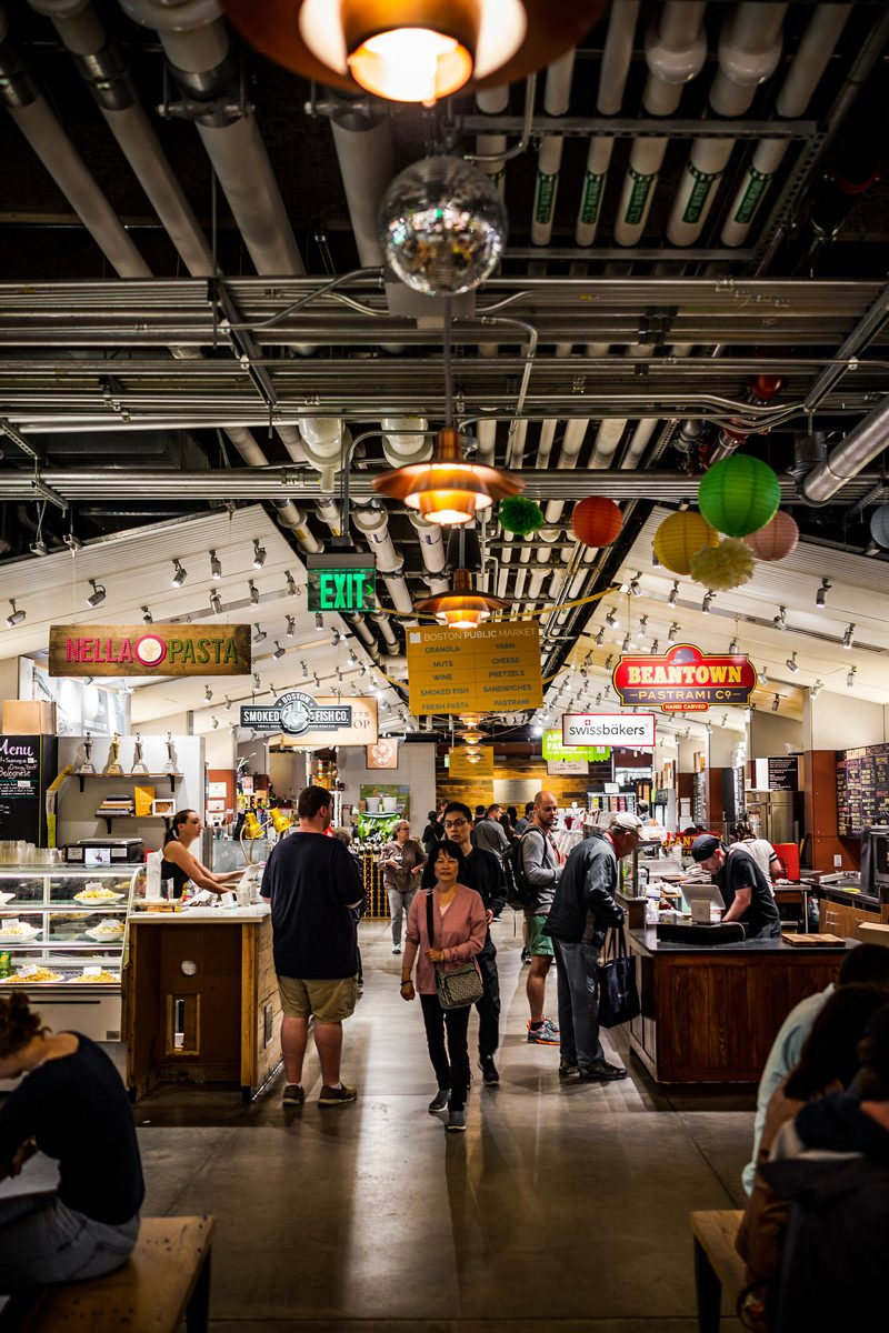 Boston Public Market - Boston Travel Guide: Things to Do & Where to Eat by popular DC travel blogger, Alicia Tenise