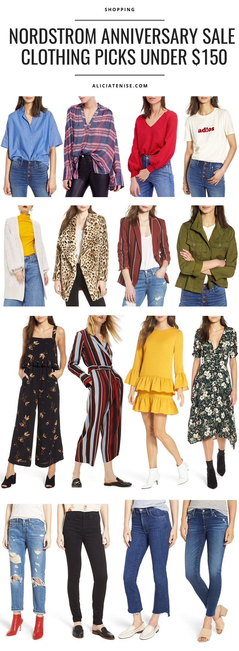 Nordstrom Anniversary Sale: Picks Under $150 featured by popular DC style blogger, Alicia Tenise
