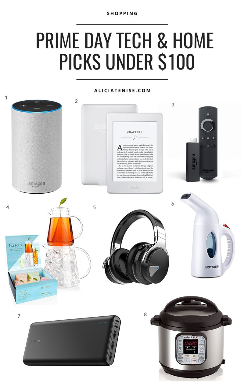 Blogger Alicia Tenise shares her top Amazon Prime Day Picks under $100