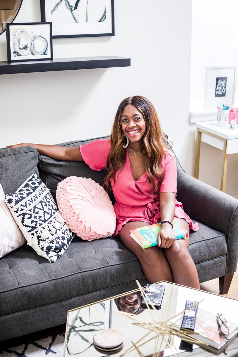 My Philly Apartment Tour featured by popular Philadelphia blogger Alicia Tenise