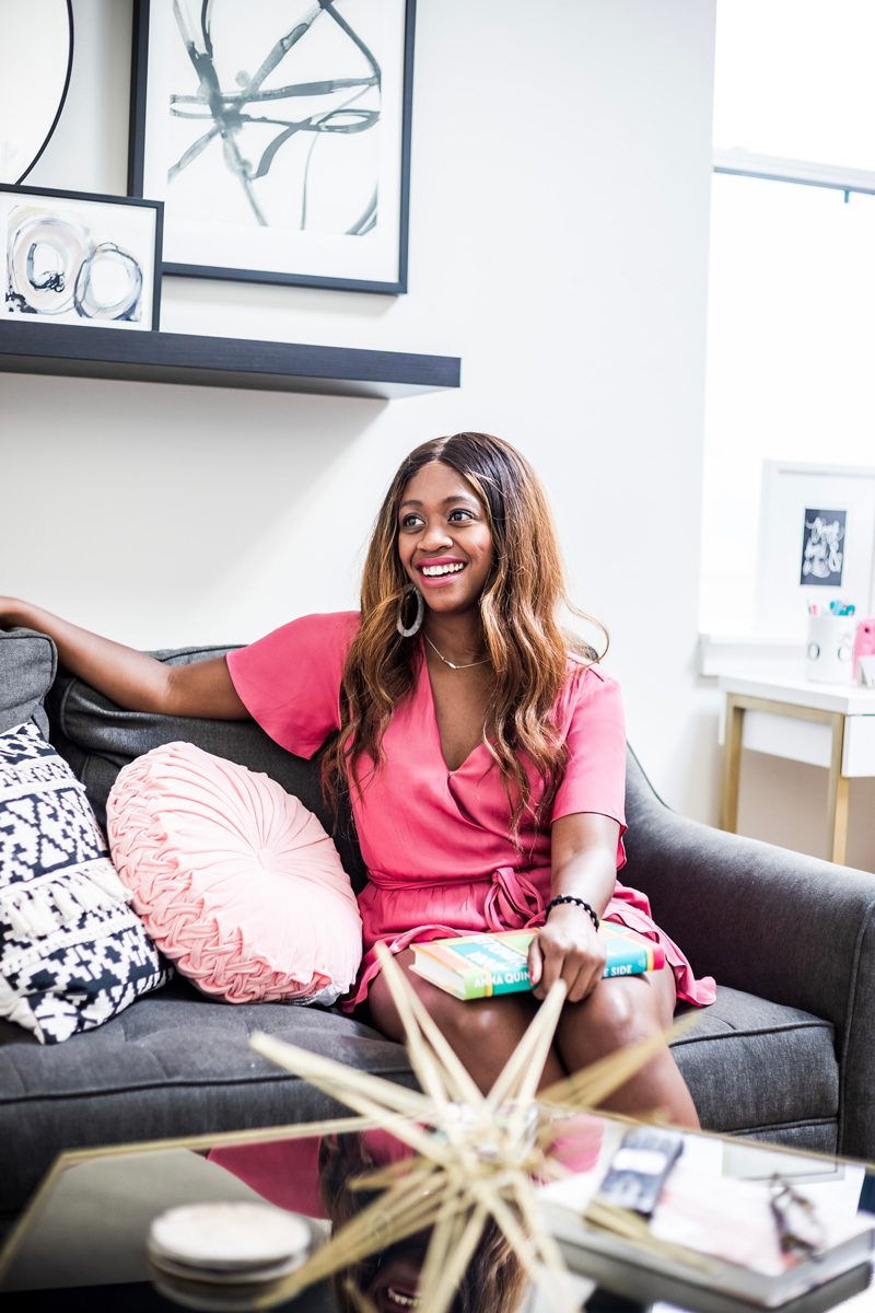 Blogger Apartment Tour - My Philly Apartment Tour featured by popular Philadelphia blogger Alicia Tenise