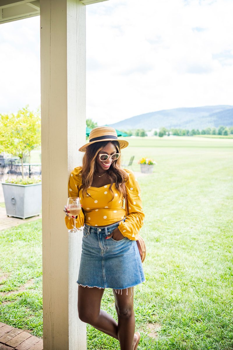 Warby Parker Cleo Sunglasses - Polka Dot Fashion: Why Polka Dots are the New Stripes featured by popular DC style blogger Alicia Tenise