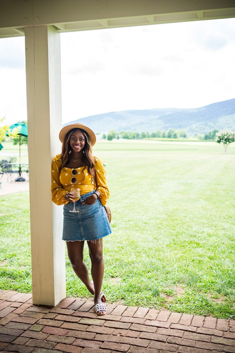 King Family Vineyards - Polka Dot Fashion: Why Polka Dots are the New Stripes featured by popular DC style blogger Alicia Tenise