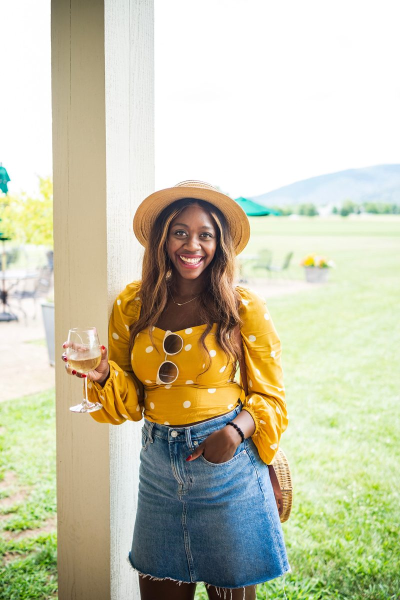 Free People Be My Lover Printed Top - Polka Dot Fashion: Why Polka Dots are the New Stripes featured by popular DC style blogger Alicia Tenise