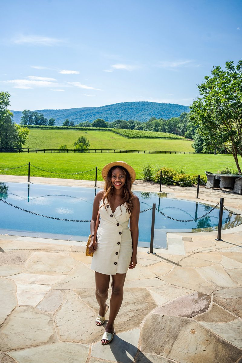 Mini Dress for a Summer Date Night - 4 Reasons Why Moving To A New Place Helped Me Grow featured by popular DC blogger Alicia Tenise