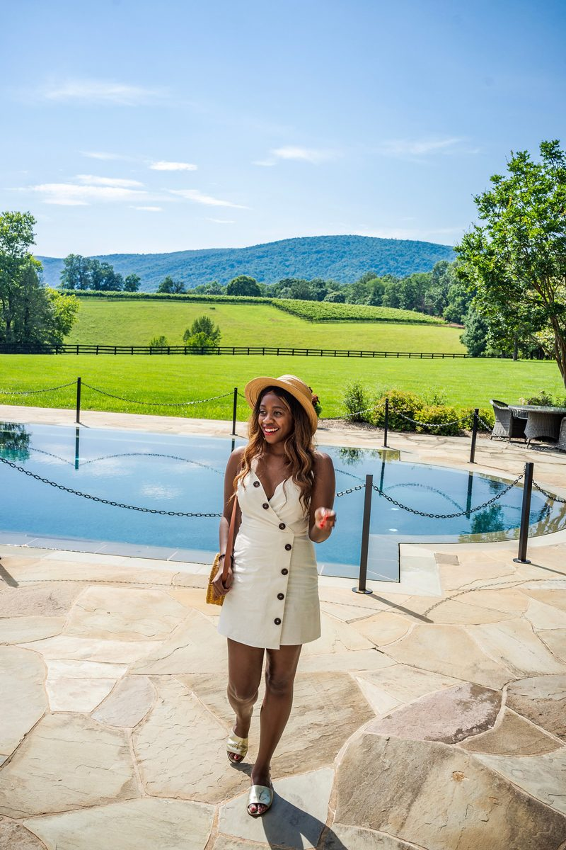 Moon River ADD TO FAVORITES Button Front Sleeveless Dress - 4 Reasons Why Moving To A New Place Helped Me Grow featured by popular DC blogger Alicia Tenise