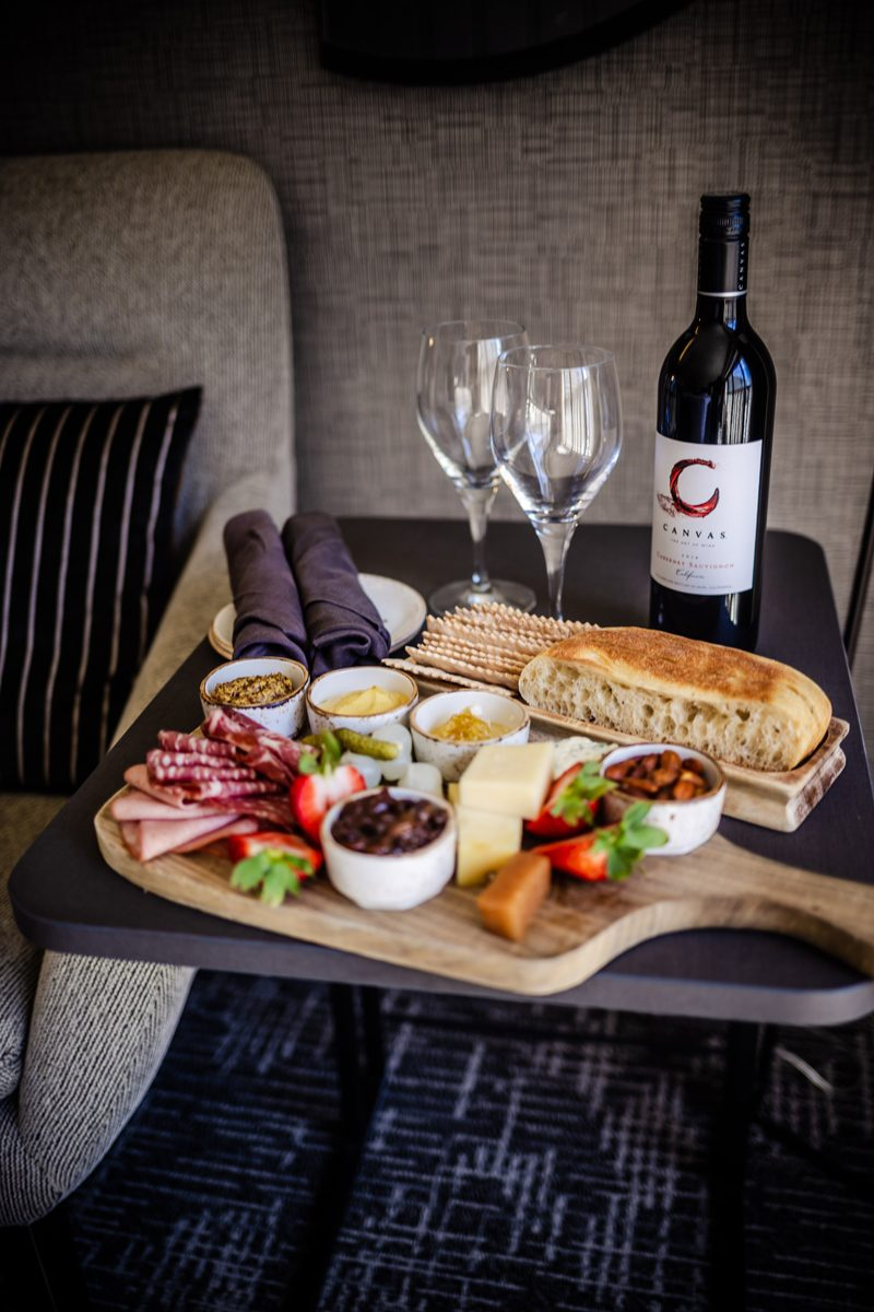 Cheese Board - Our Home Away From Home: The Hyatt Regency San Francisco featured by popular DC travel blogger Alicia Tenise