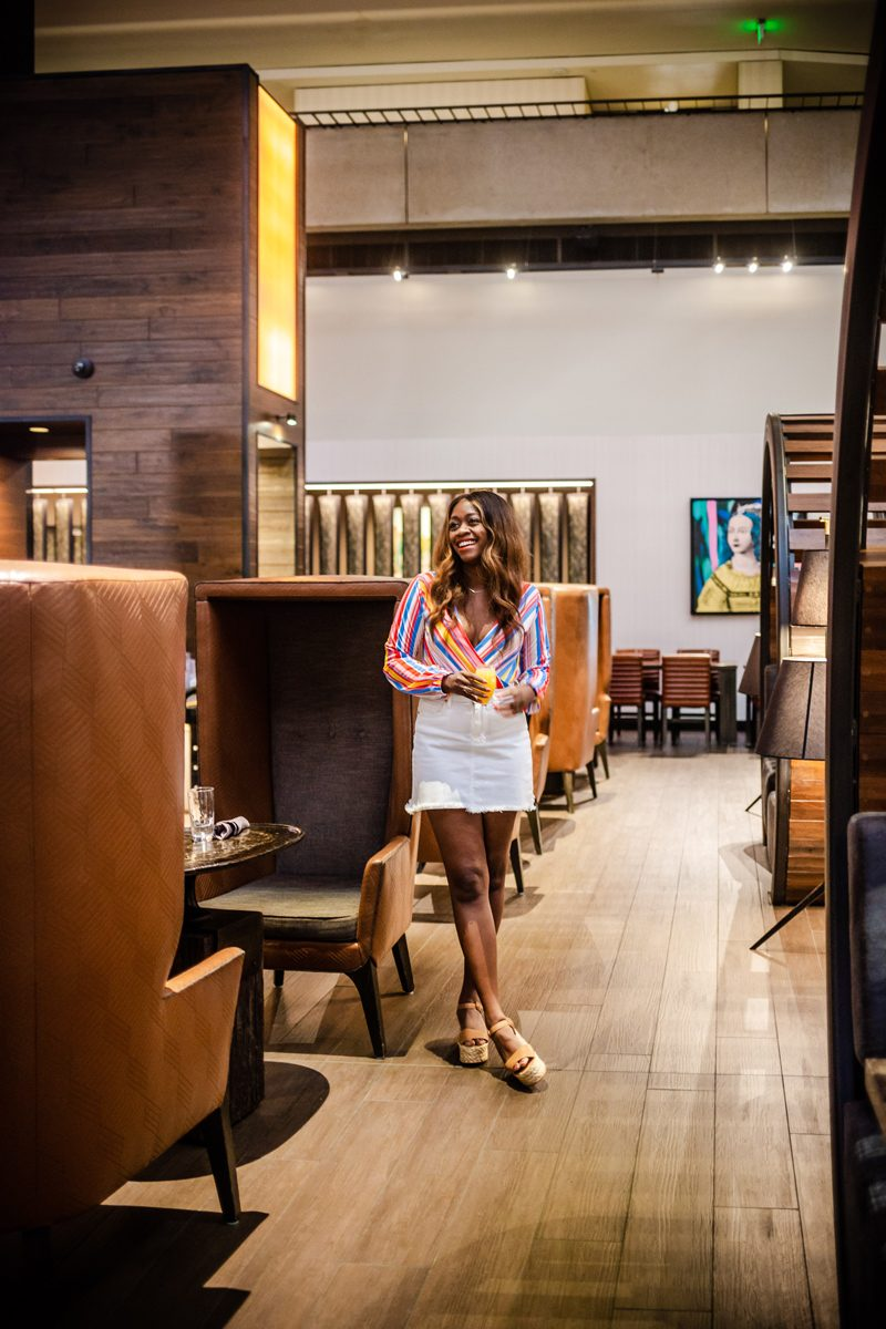 Eclipse Kitchen & Bar - Our Home Away From Home: The Hyatt Regency San Francisco featured by popular DC travel blogger Alicia Tenise