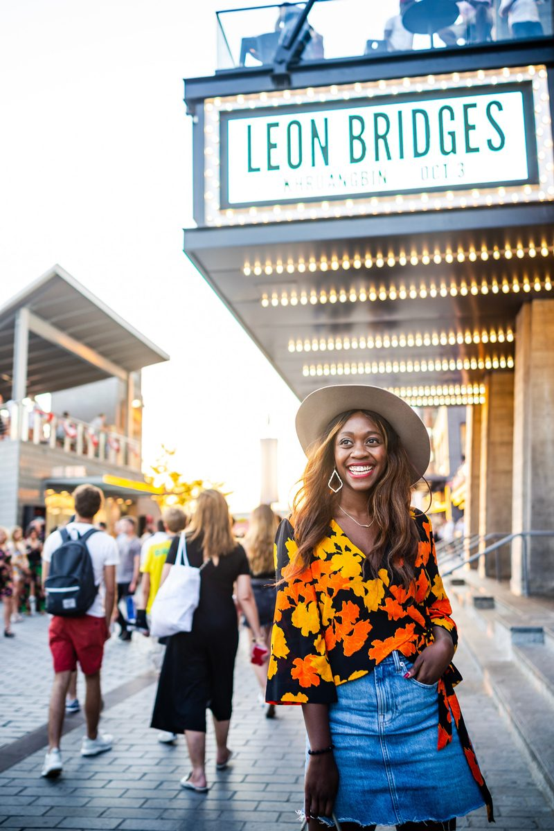 The Anthem D.C. - Music Festival outfit featured by popular DC style blogger, Alicia Tenise