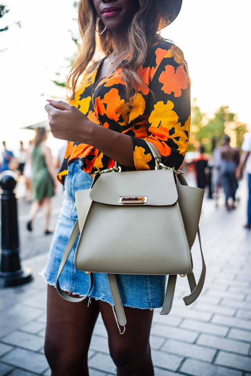 ZAC Zac Posen Eartha Iconic Convertible Backpack - Music Festival outfit featured by popular DC style blogger, Alicia Tenise