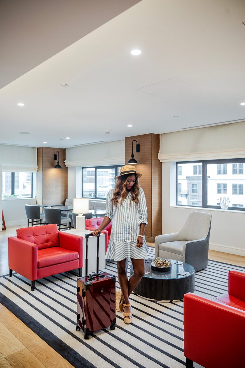 A Chic Hotel in the Heart of Downtown Boston: The Westin Copley Place featured by popular DC travel blogger Alicia Tenise