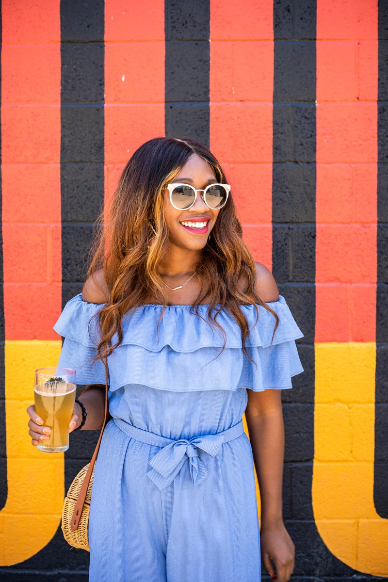What to Wear to a Brewery - What to Do When You're Feeling Deflated featured by popular DC life and style blogger Alicia Tenise