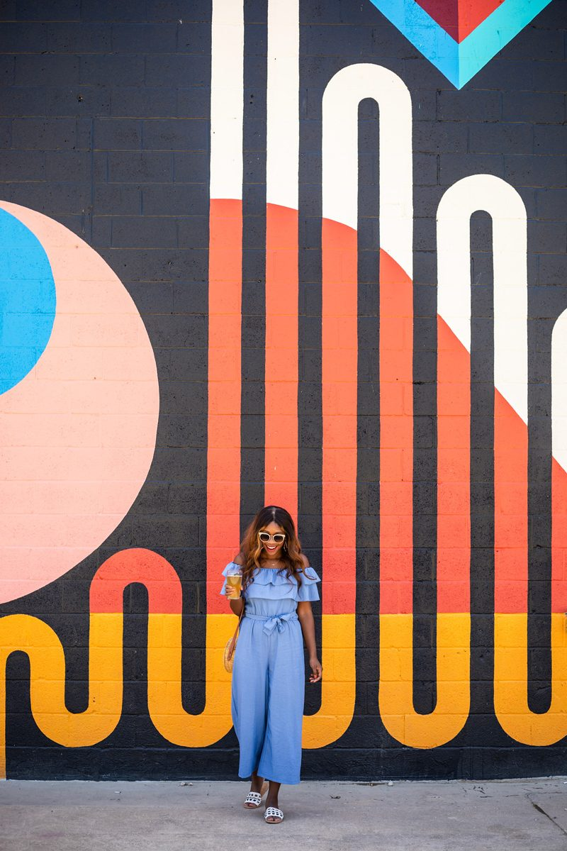 Union Collective Mural by Jessie and Katey - What to Do When You're Feeling Deflated featured by popular DC life and style blogger Alicia Tenise