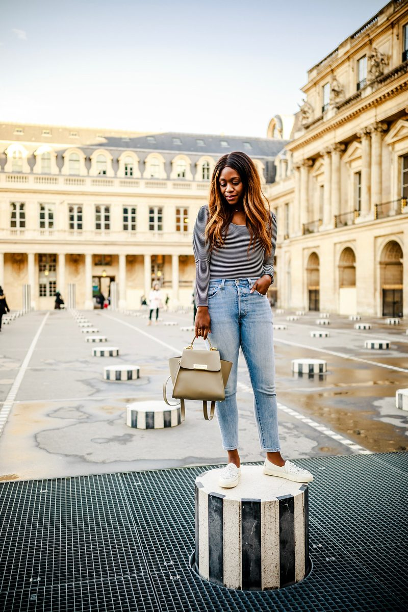 Jardin du Palais Royal - Paris Travel Guide: Things to Do, See and Eat featured by popular Virginia travel blogger Alicia Tenise